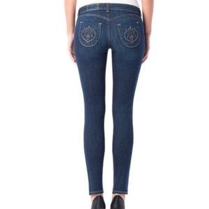 Siwy contoured slim crop jeans size 25